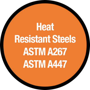 Heat Resistant Steel Castings ASTM A267 ASTM A447